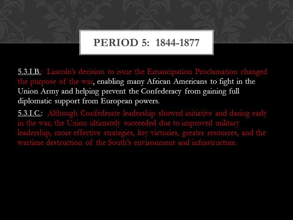 Period 5: 1844-1877