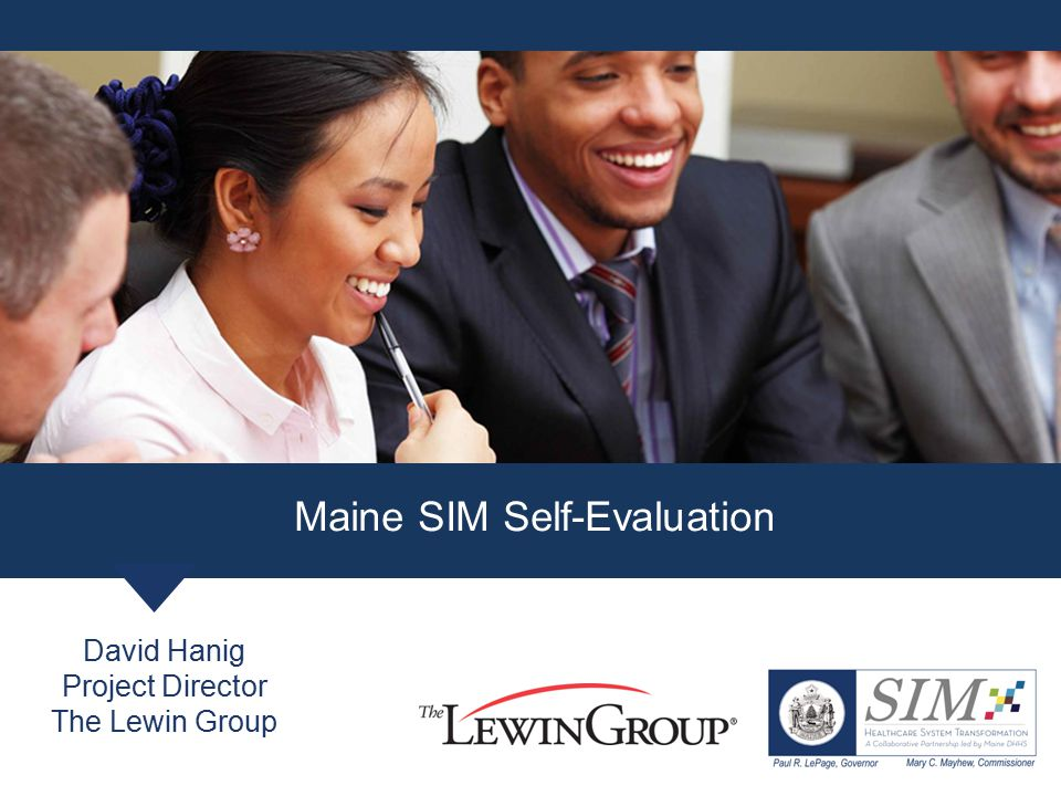 Maine SIM Self-Evaluation
