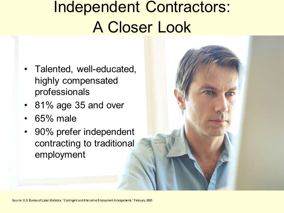 Independent Contractors: A Closer Look