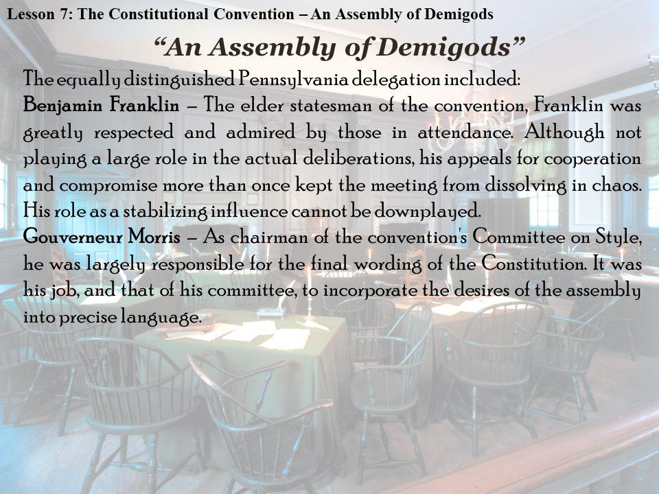 An Assembly of Demigods