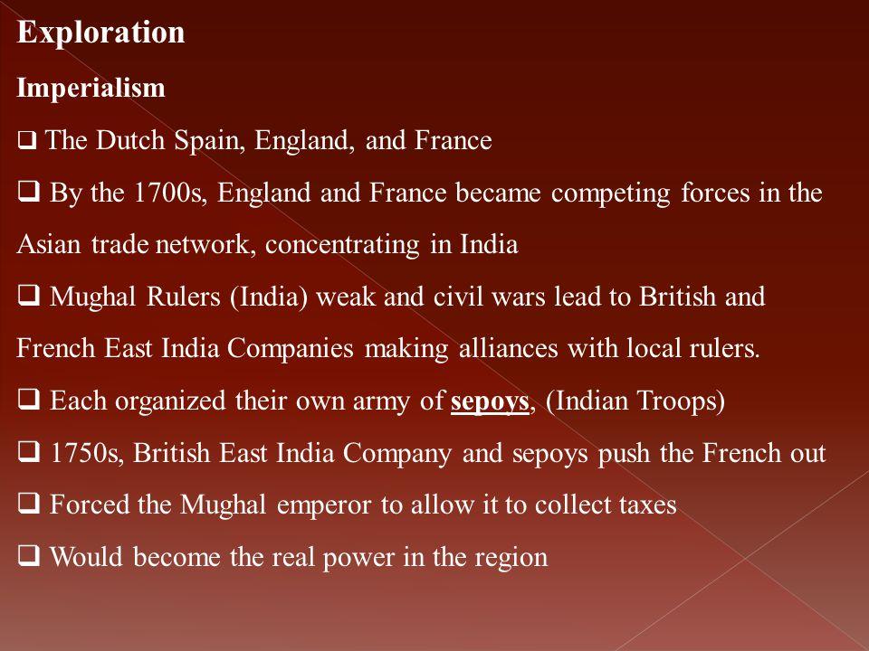 Exploration Imperialism