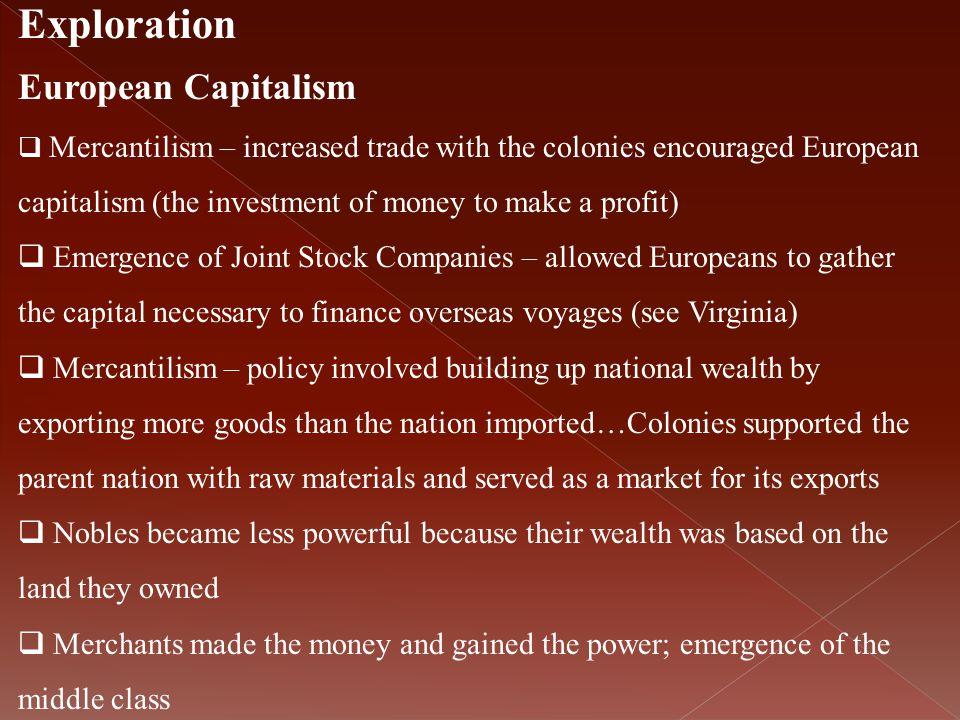 Exploration European Capitalism