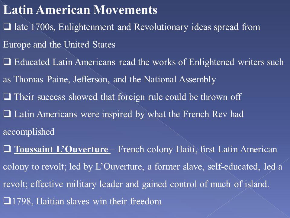 Latin American Movements