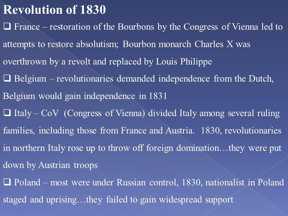 Revolution of 1830