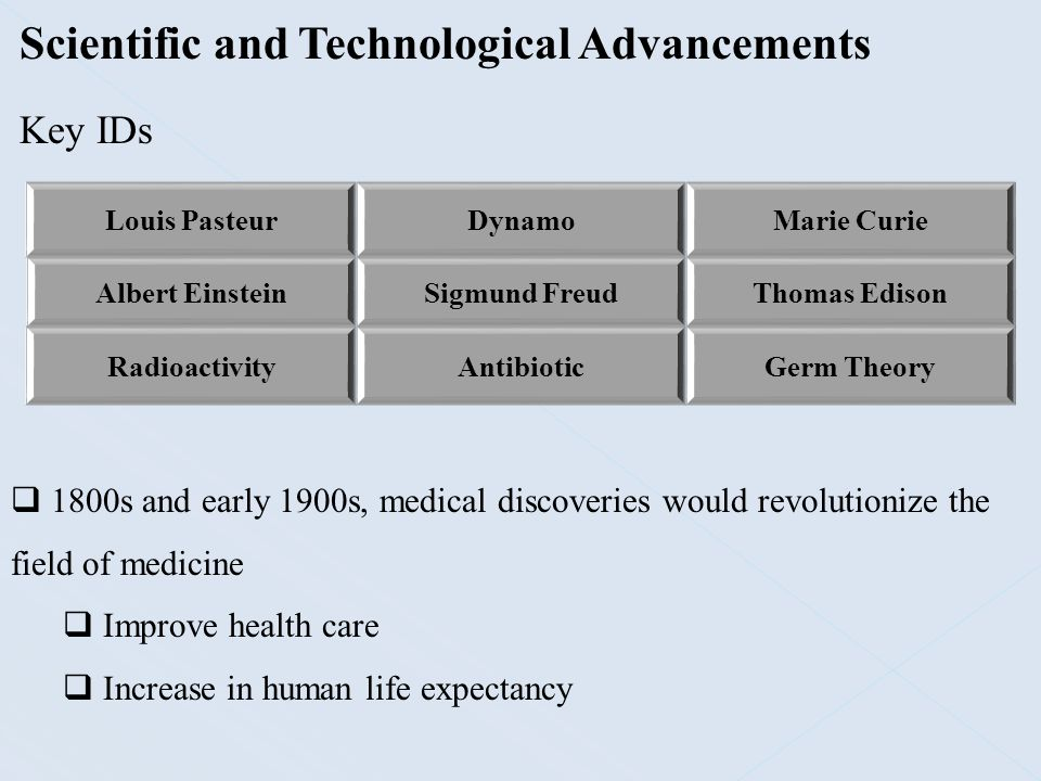 Scientific and Technological Advancements