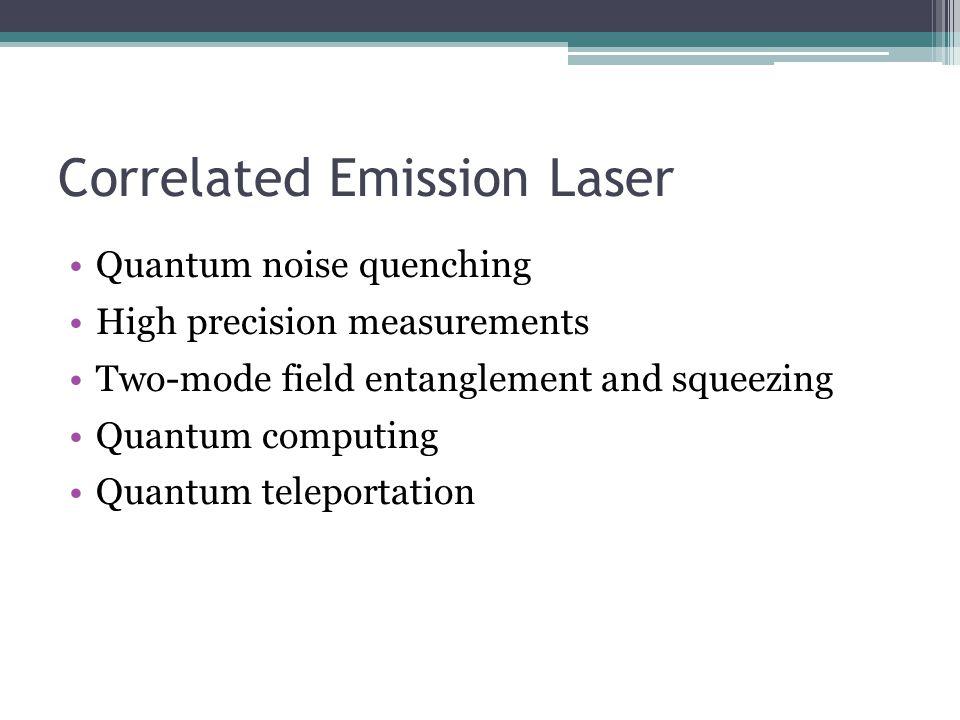 Correlated Emission Laser