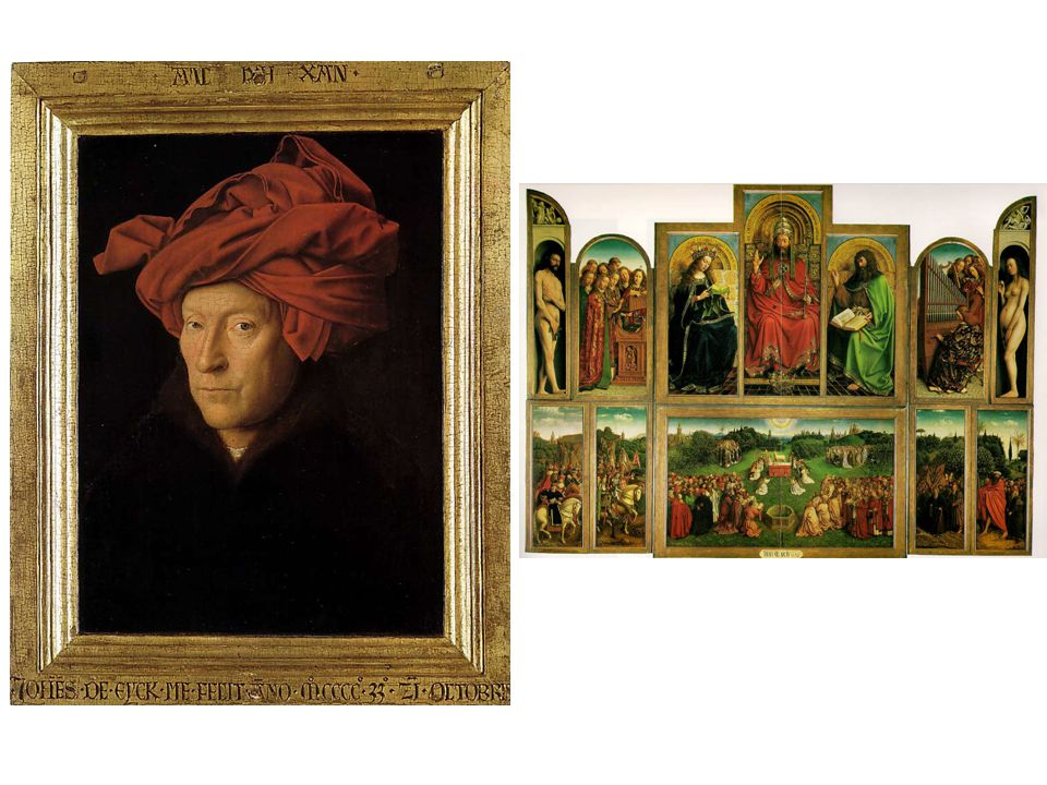 Ghent alterpiece Man in Turban