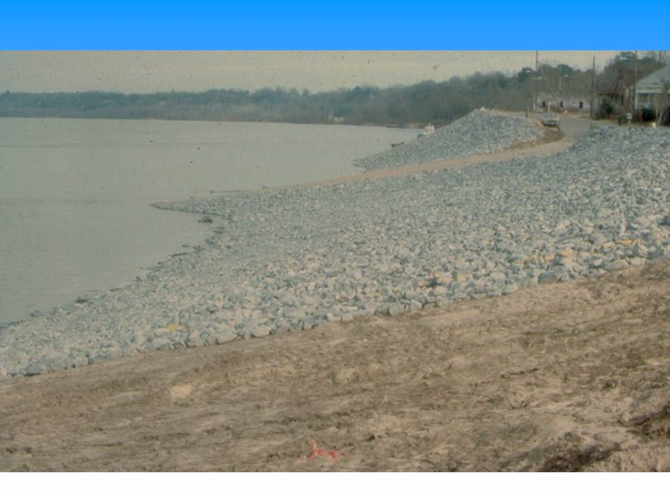 Some riprap is widely graded such that some believe it has a built in filter.