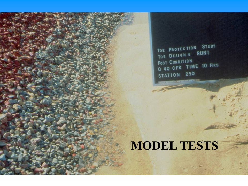 After launching MODEL TESTS
