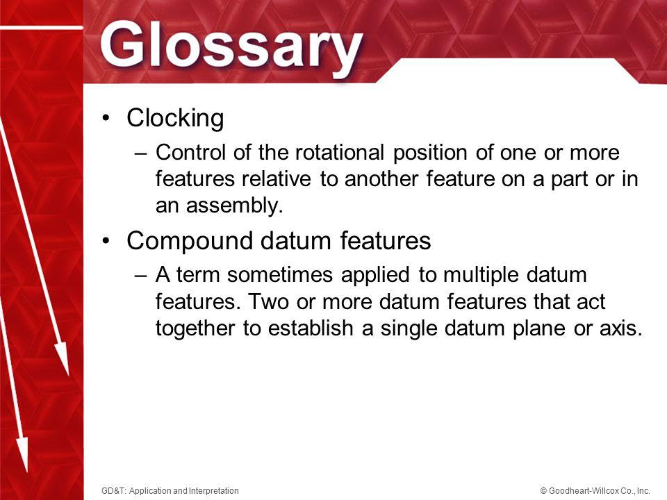 Compound datum features