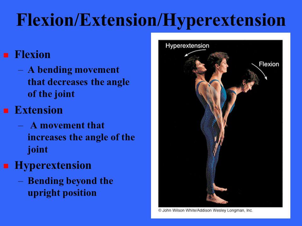 Flexion/Extension/Hyperextension