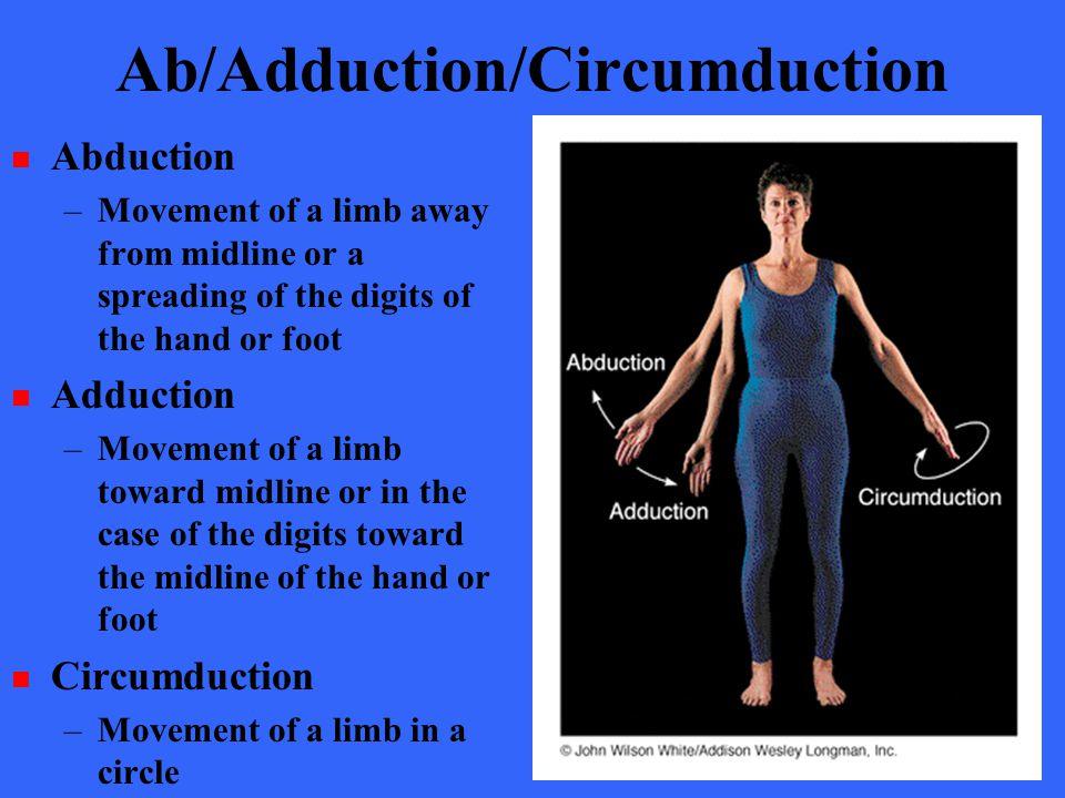 Ab/Adduction/Circumduction
