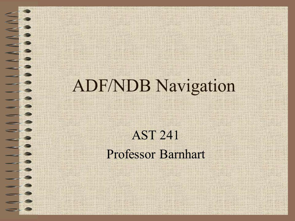 AST 241 Professor Barnhart