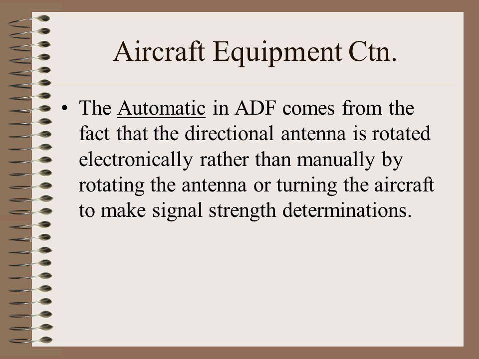 Aircraft Equipment Ctn.