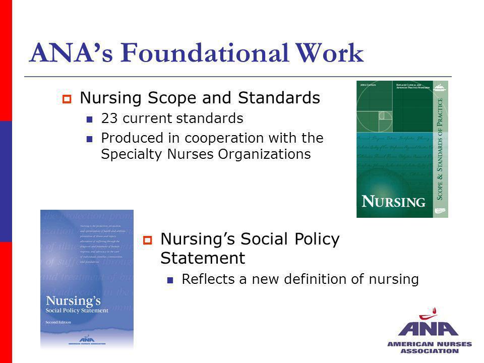 ANA's Foundational Work