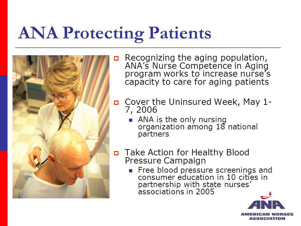 ANA Protecting Patients