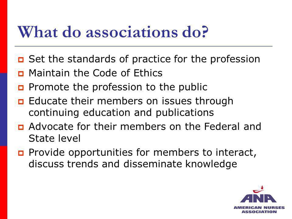 What do associations do