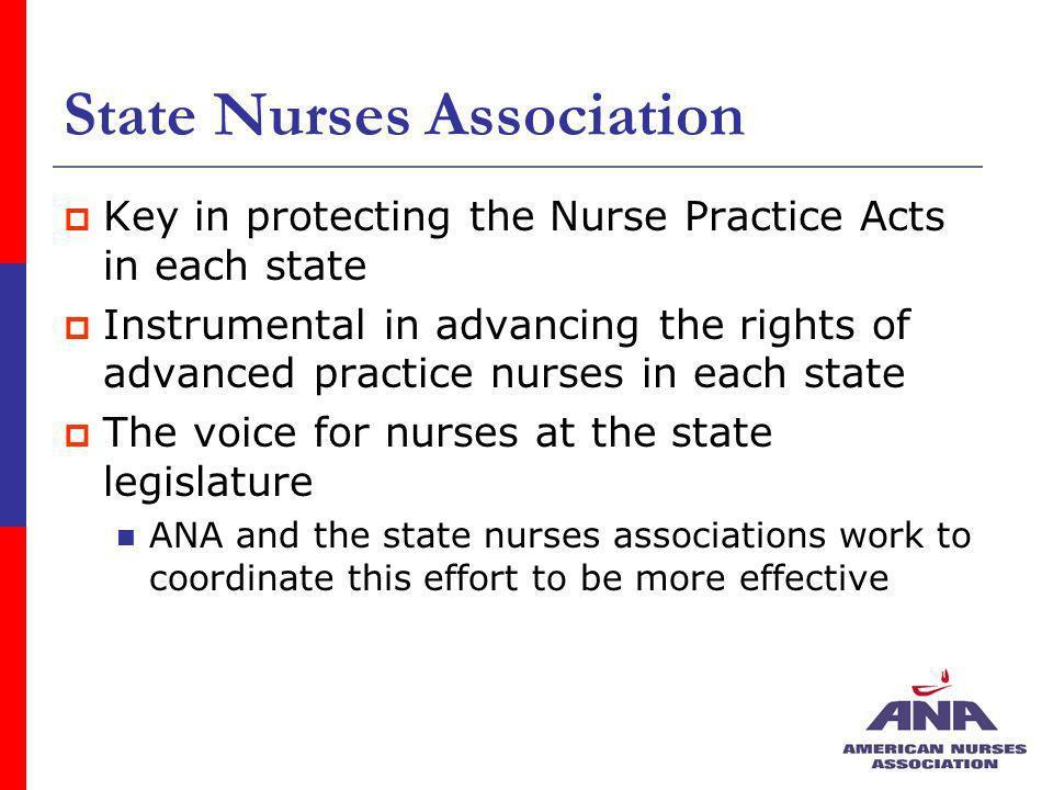 State Nurses Association