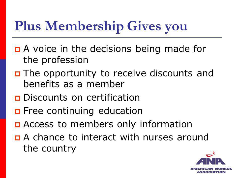 Plus Membership Gives you