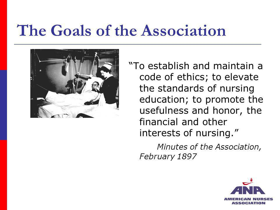 The Goals of the Association