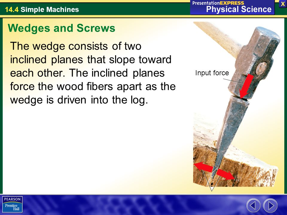 Wedges and Screws