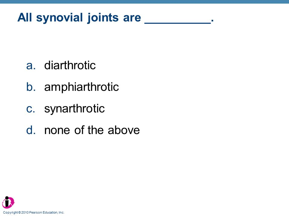 All synovial joints are __________.