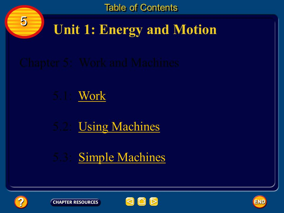 Unit 1: Energy and Motion