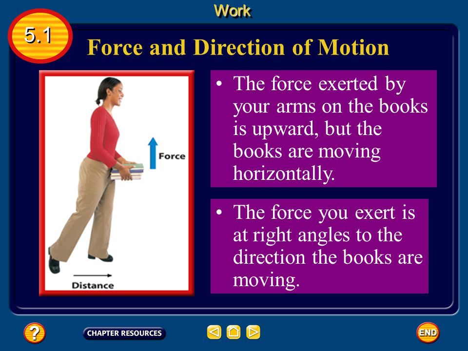 Force and Direction of Motion