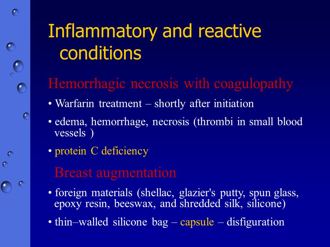 Inflammatory and reactive conditions