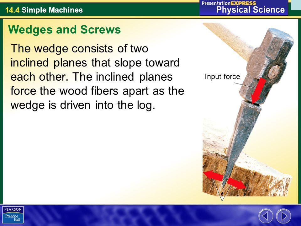 Wedges and Screws