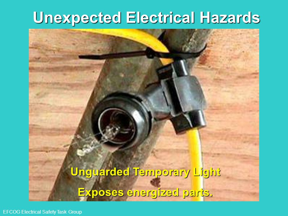 Unexpected Electrical Hazards