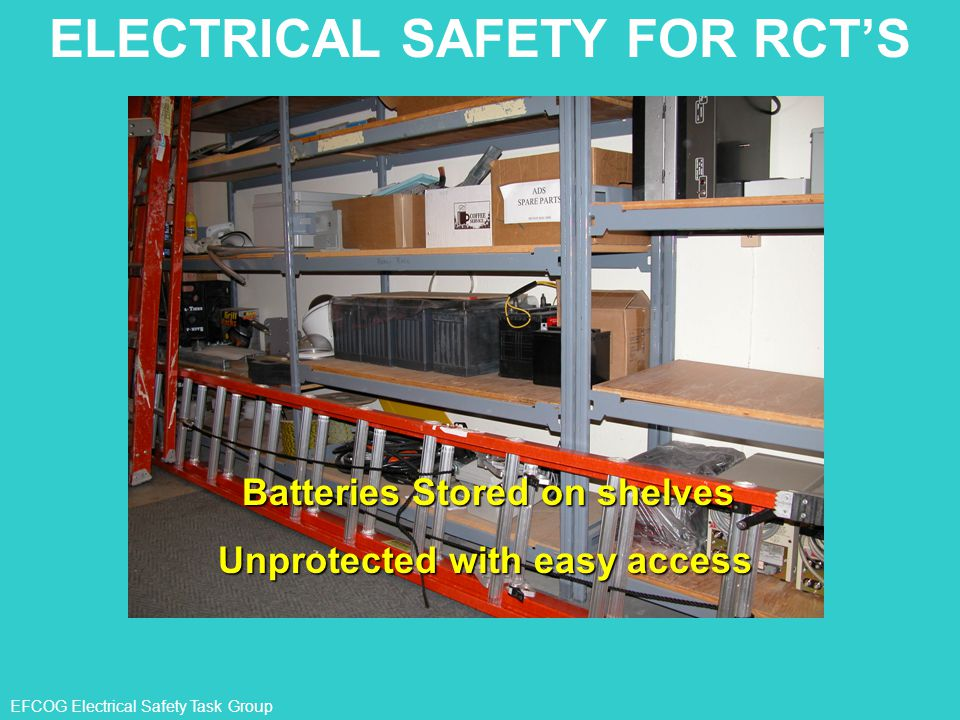 ELECTRICAL SAFETY FOR RCT'S
