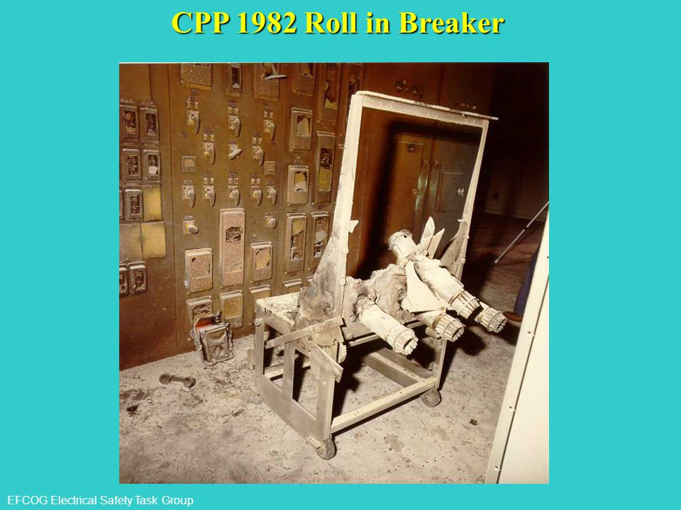 CPP 1982 Roll in Breaker Here is the same Roll in Breaker after a fault.Which approach boundary would you want to be in