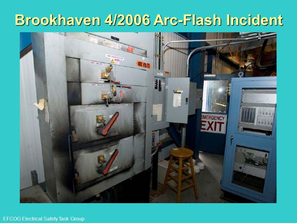 Brookhaven 4/2006 Arc-Flash Incident