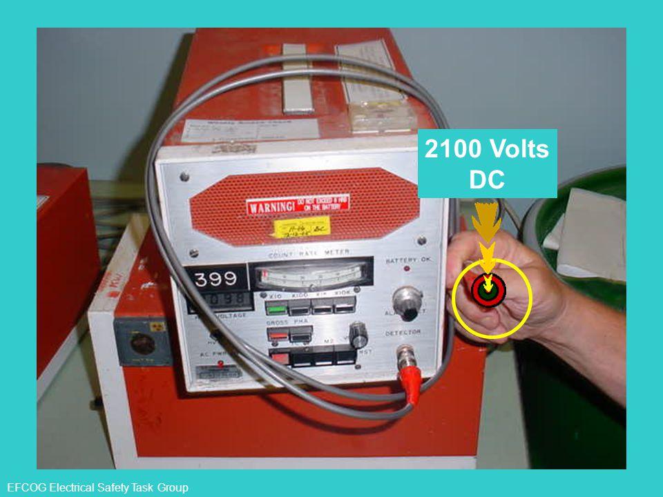 2100 Volts DC EFCOG Electrical Safety Task Group