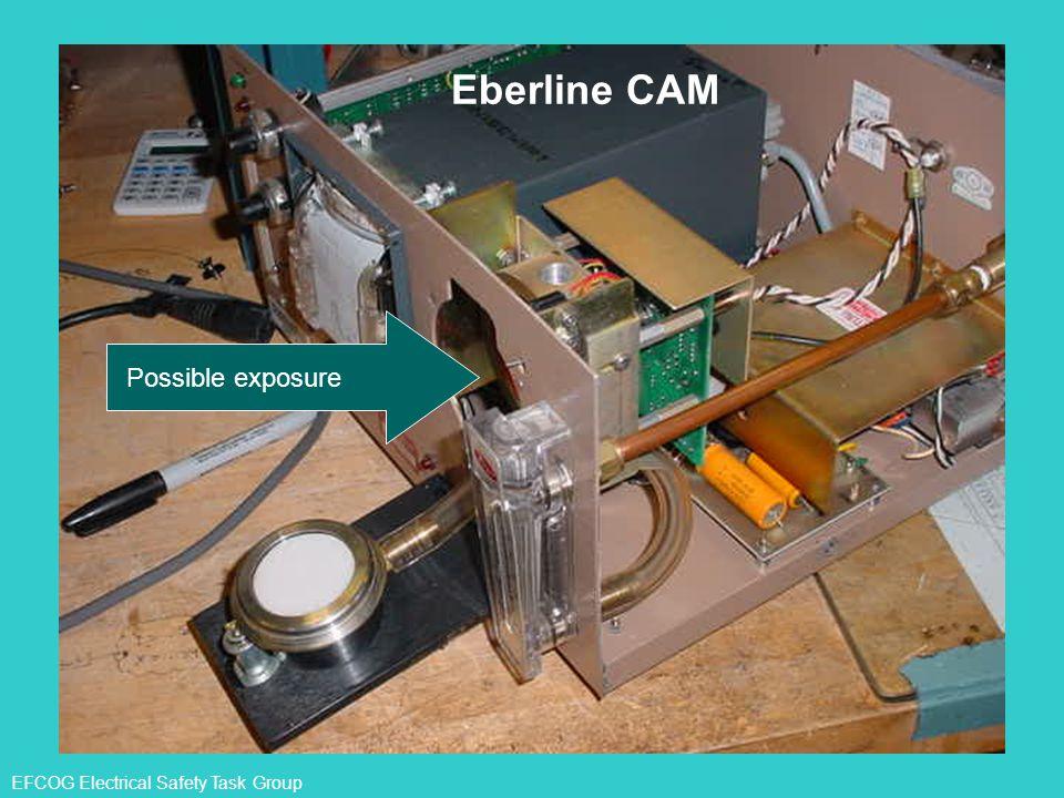 Eberline CAM Possible exposure