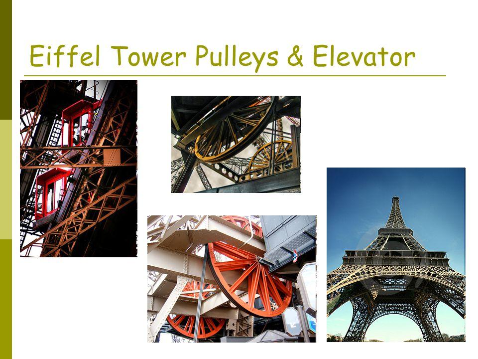 Eiffel Tower Pulleys & Elevator