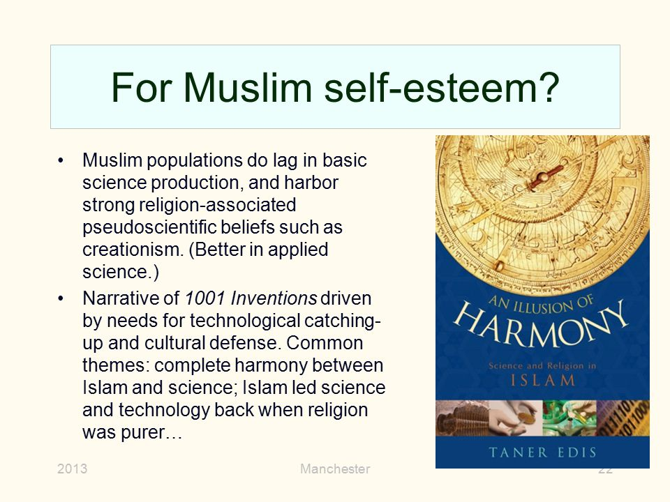 For Muslim self-esteem
