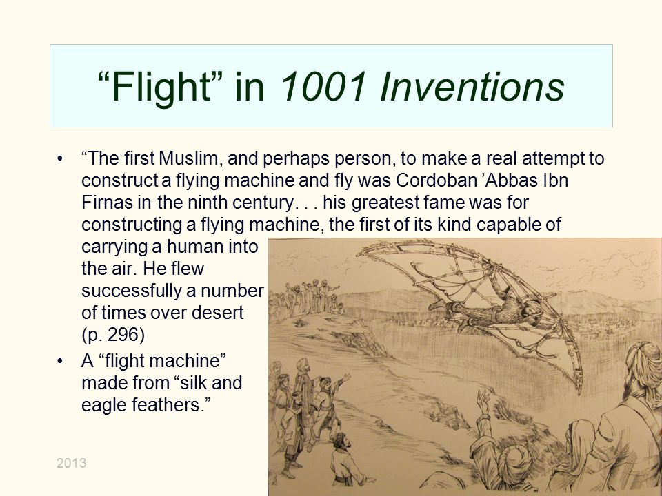 Flight in 1001 Inventions