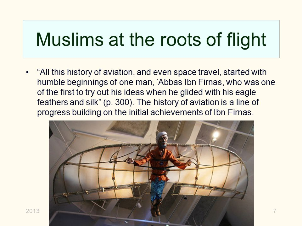 Muslims at the roots of flight
