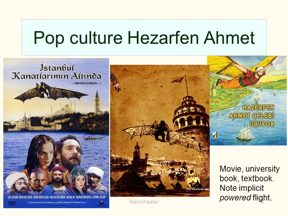 Pop culture Hezarfen Ahmet