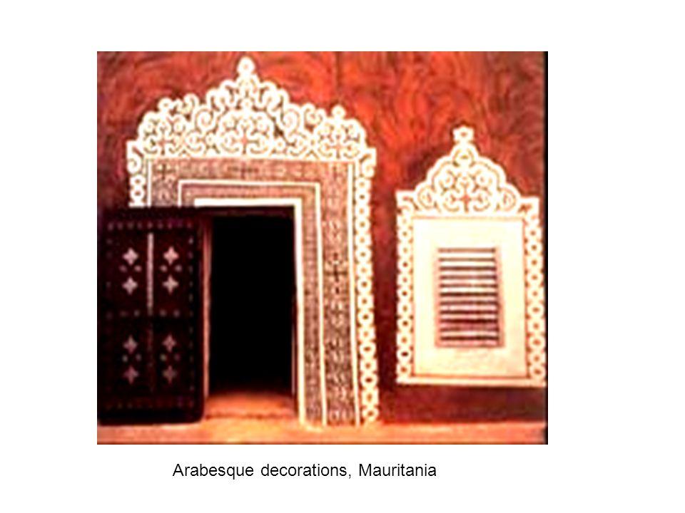 Arabesque decorations, Mauritania