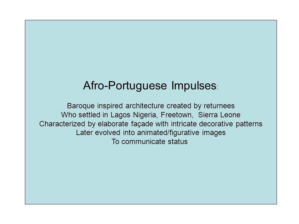 Afro-Portuguese Impulses: