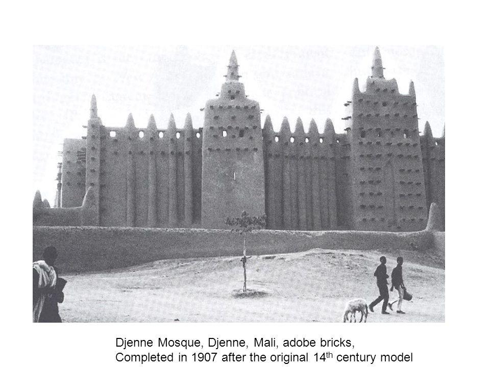Djenne Mosque, Djenne, Mali, adobe bricks,