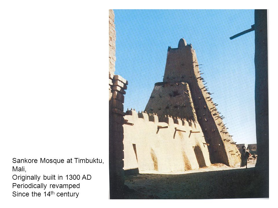 Sankore Mosque at Timbuktu,