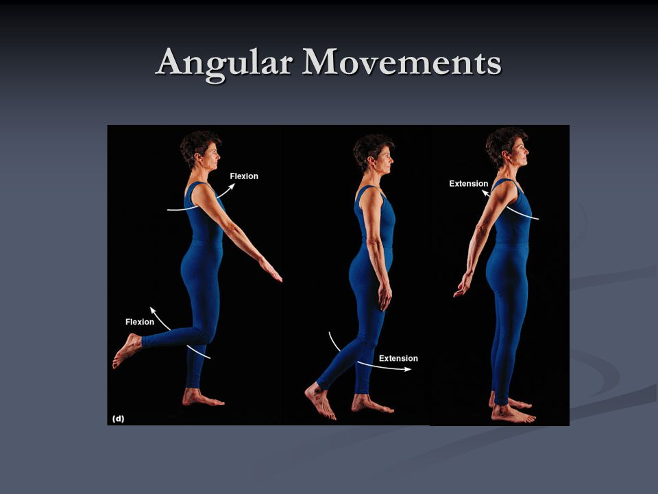 Angular Movements