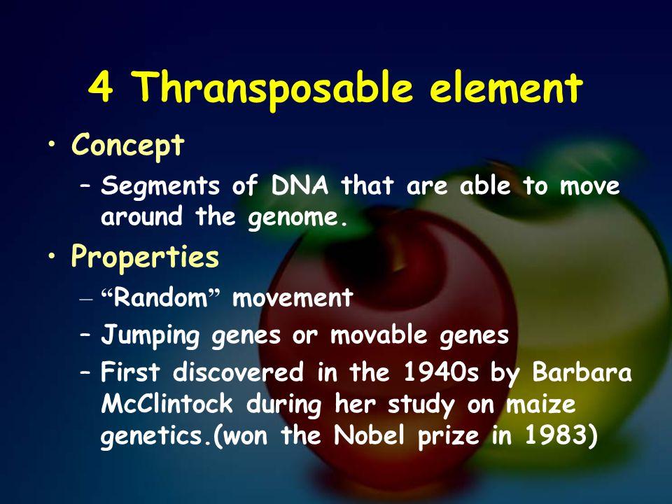 4 Thransposable element