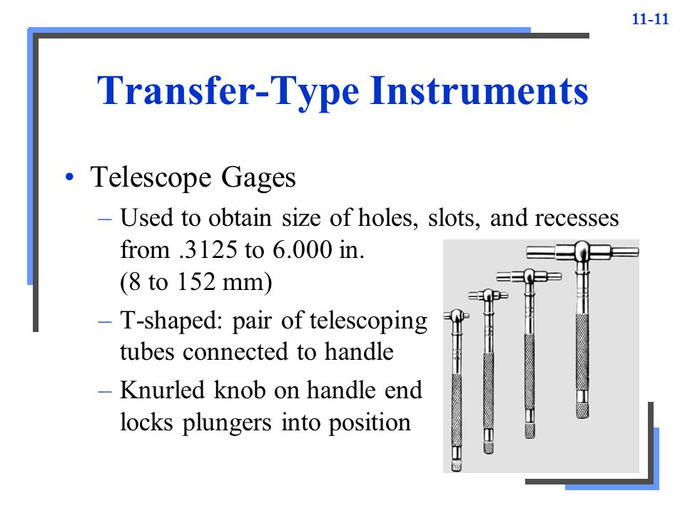 Transfer-Type Instruments