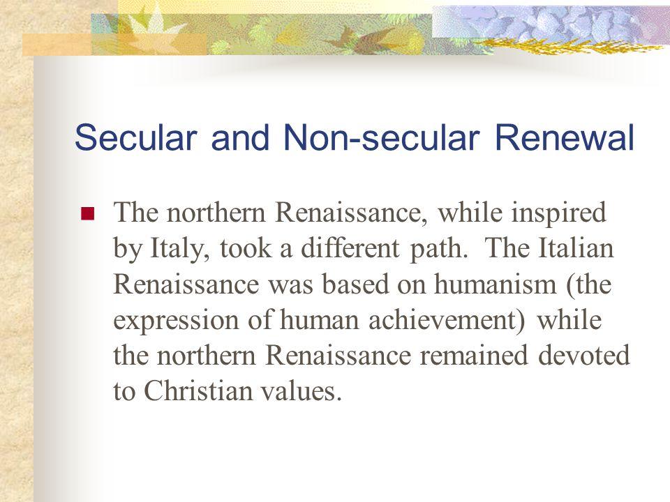 Secular and Non-secular Renewal