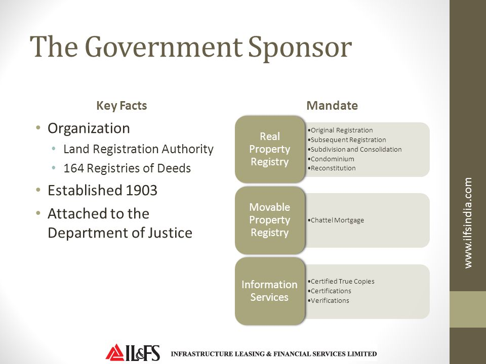 The Government Sponsor